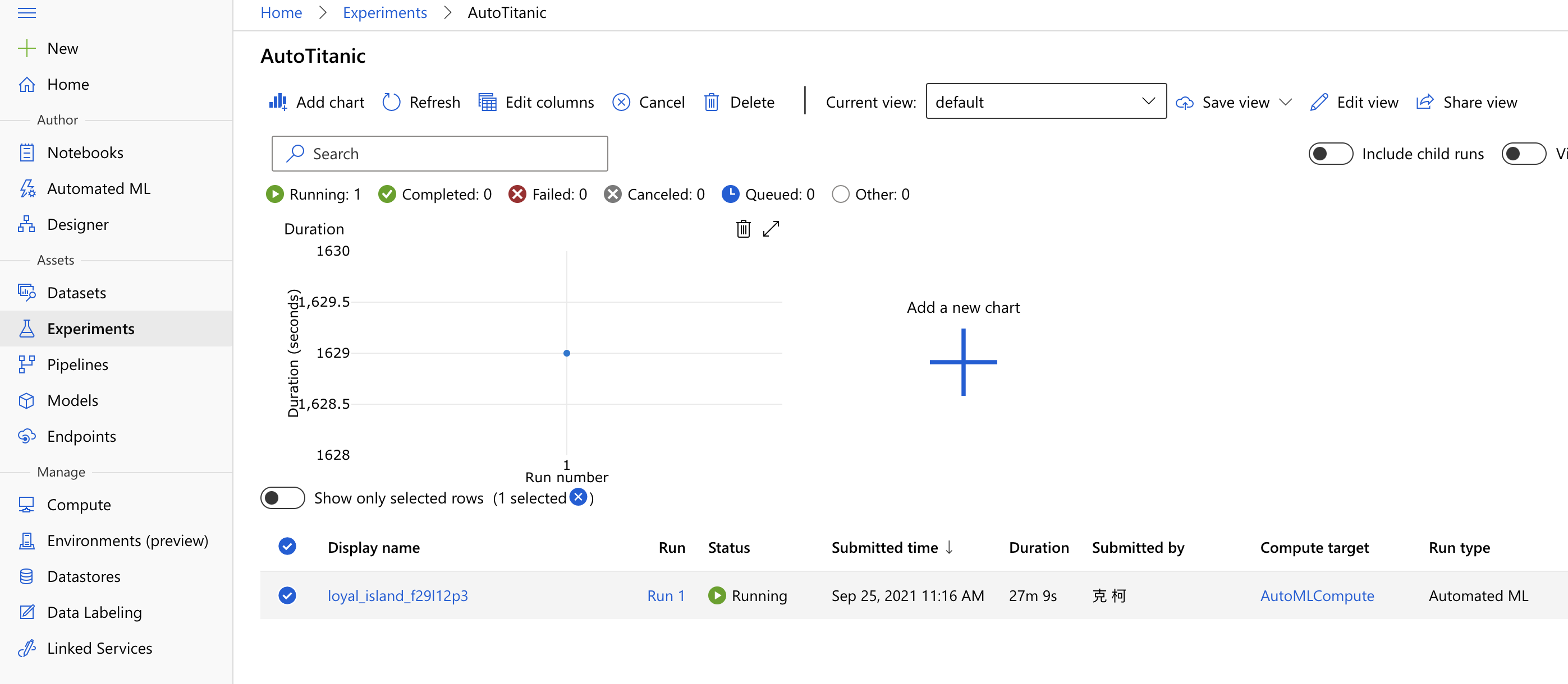 Deploy AutoML in Azure machine learning